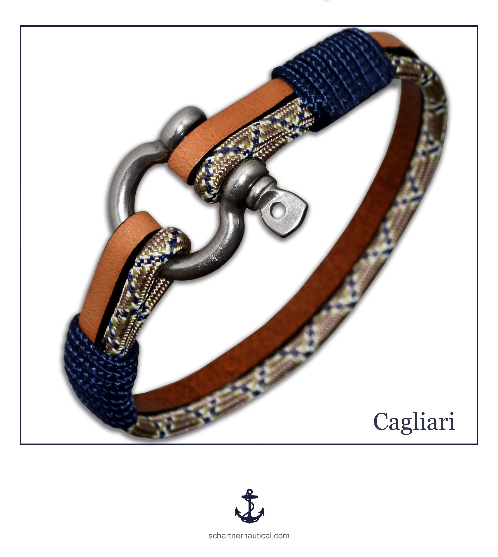 SCHARTNER-Cagliari Vitorlás karkötő